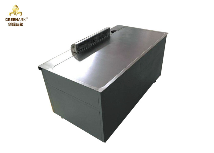 1600mm Gas Hibachi Grill Equipment , 8 Seats Commercial Hibachi Grill